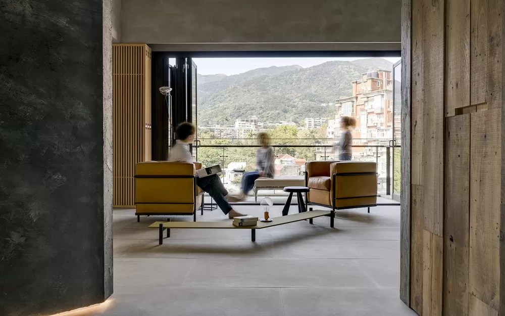 yilan chair design competition 2018 stand up exercise din a ka residence in taipei e architect