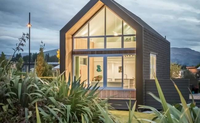 Kirimoko Tiny House In Wanaka South Island E Architect