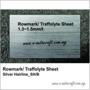 rowmark traffolyte sheetsilver