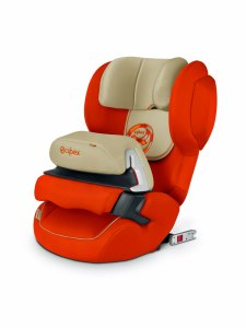 siège auto cybex Juno 2 Fix Automn gold orange