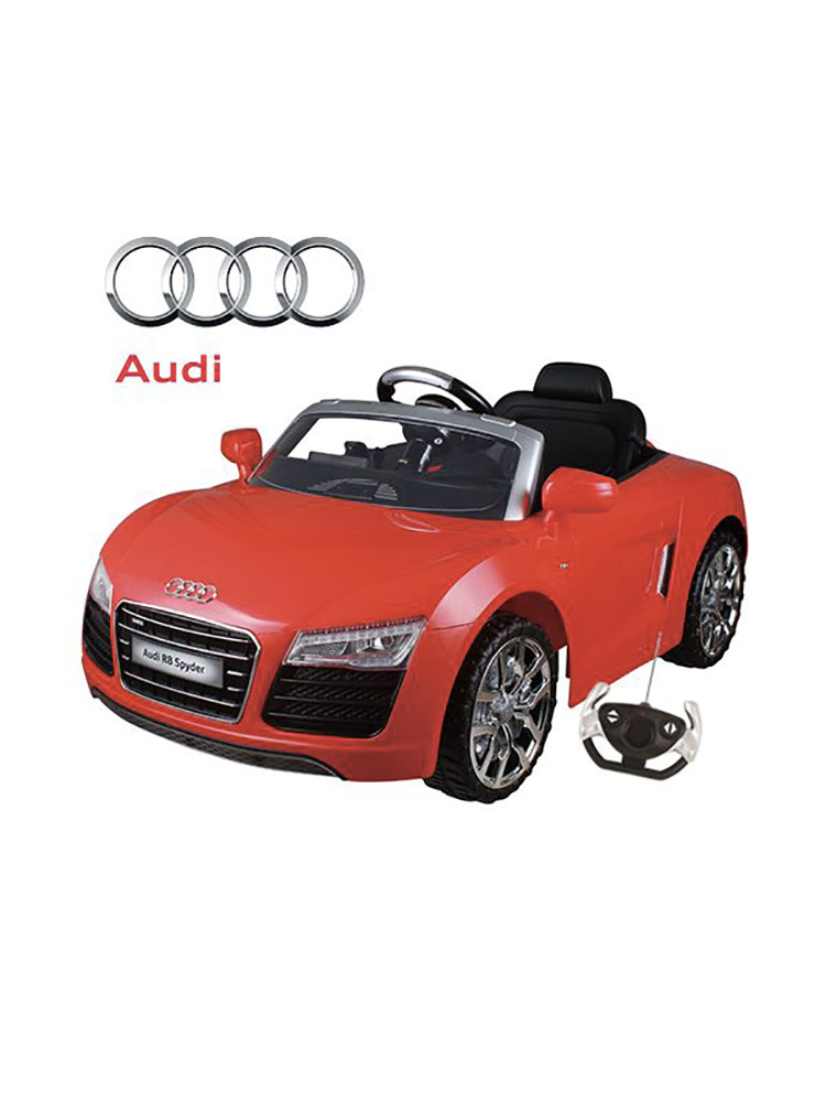 voiture lectrique 12v style audi r8 spyder rouge. Black Bedroom Furniture Sets. Home Design Ideas