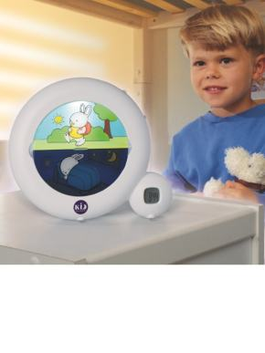 indicateur de reveil kid sleep claessenskids blanc