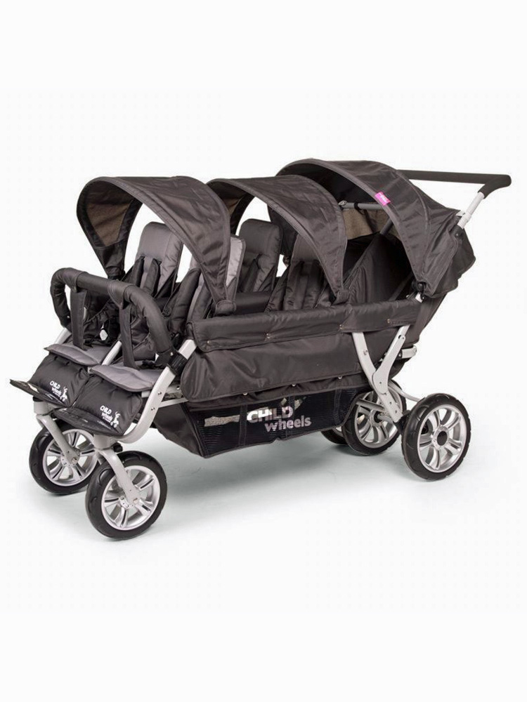 La poussette 6 places de Child Wheels