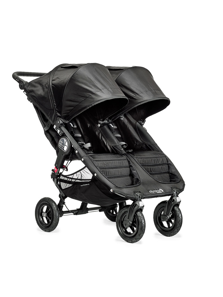 Poussette baby jogger city mini GT double assise profil