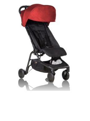poussette mountain buggy nano V2 rouge