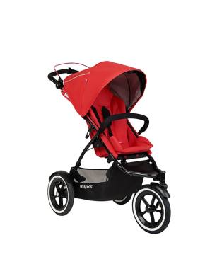 poussette sport buggy phil&teds rouge