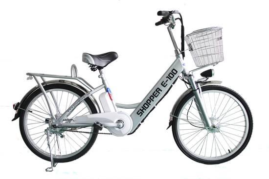 Buy a Powabyke Shopper E100 Electric Bike from E-Bikes Direct