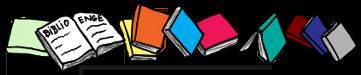 Banderole de livres, à la manière de PoZ