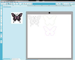 Papillon en dentelle du Silhouette Store