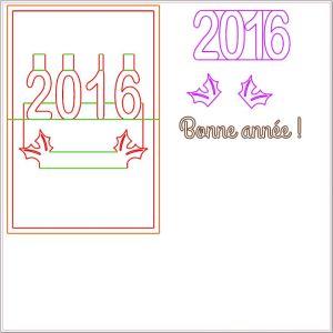 Capture patron Bonne année 2016