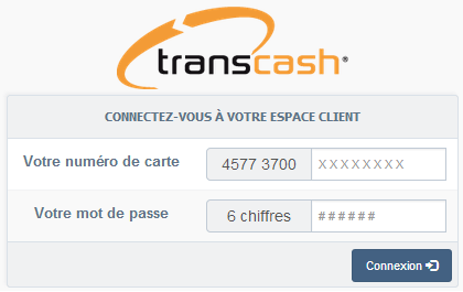 Carte coupons trans-cash