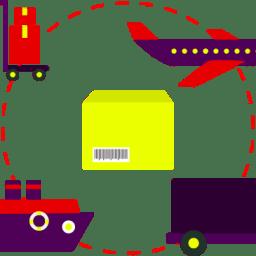 Frete com intermediários e transportadoras