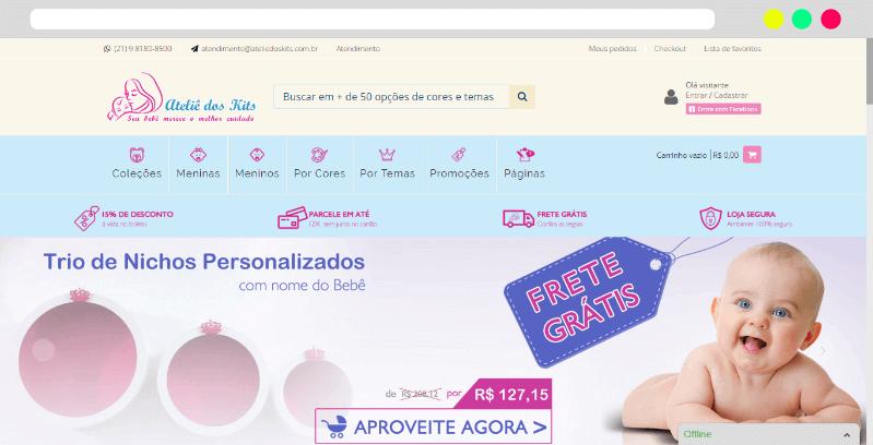 loja ateliê dos kits caso de sucesso