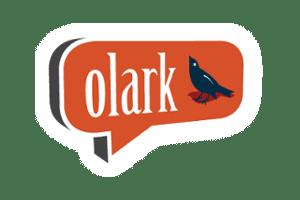 Chat Olark na plataforma de e-commerce E-Com Club