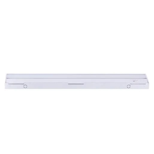 nicor 21 1 2 inch led under cabinet lighting with color temperature selectable options 632 739 lumens white