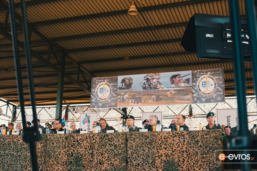 """Φωτορεπορτάζ από την τελική φάση της στρατιωτικής άσκησης """"Παρμενίων 2017"""""""