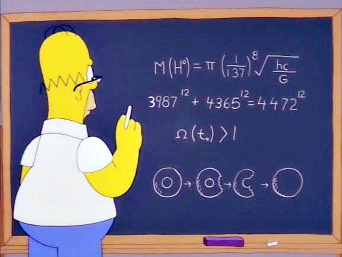 Resultado de imagem para homer boson higgs