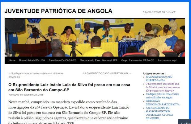 Blog angolano caiu na pegadinha virtual!