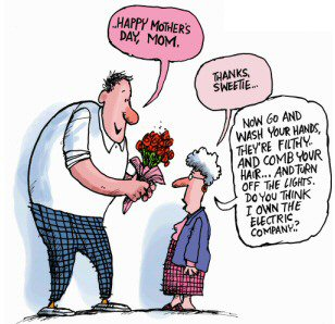 Mother's Daycartoon