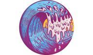 Waboba Wingman - Artist Series - Wave