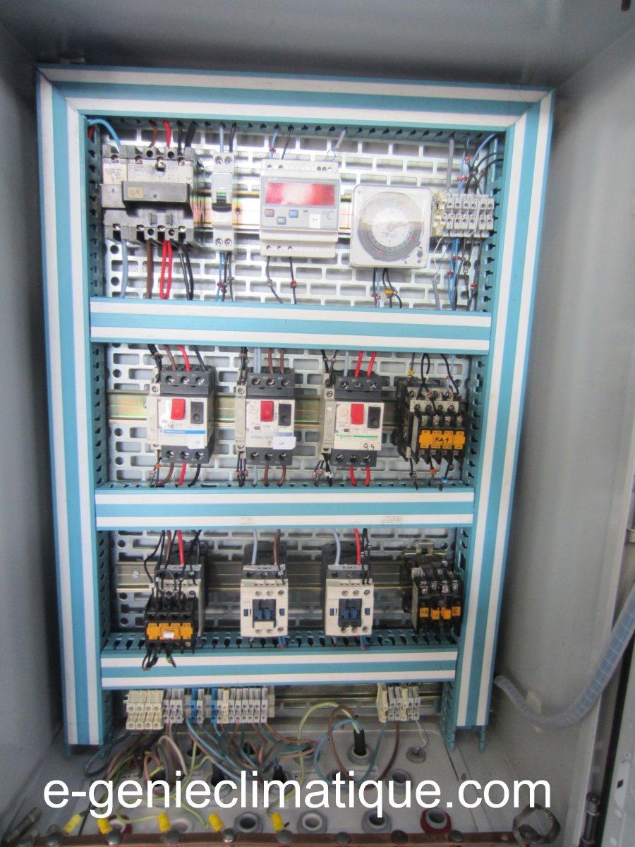 Froid01Le circuit frigorifique de base dans une chambre froide positiveexplication  e