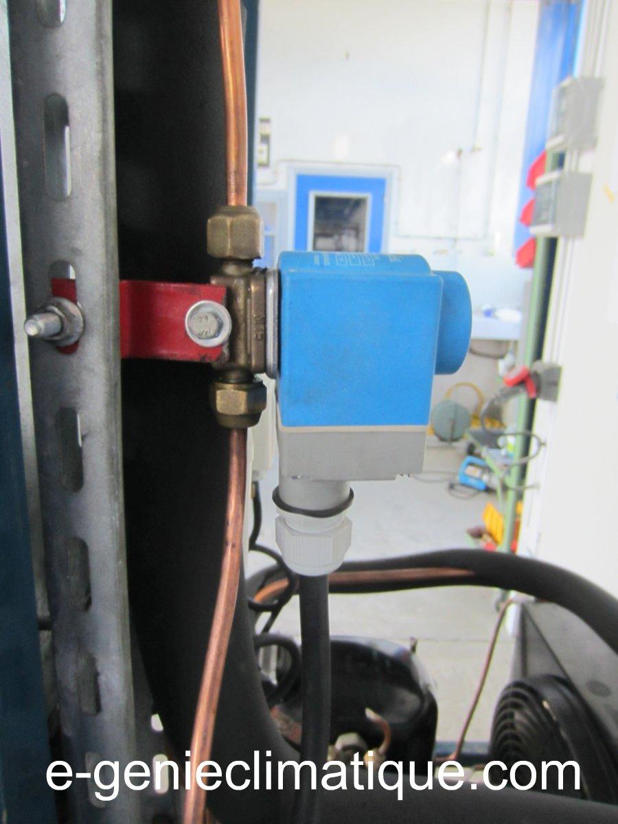 Froid01Le circuit frigorifique de base dans une chambre
