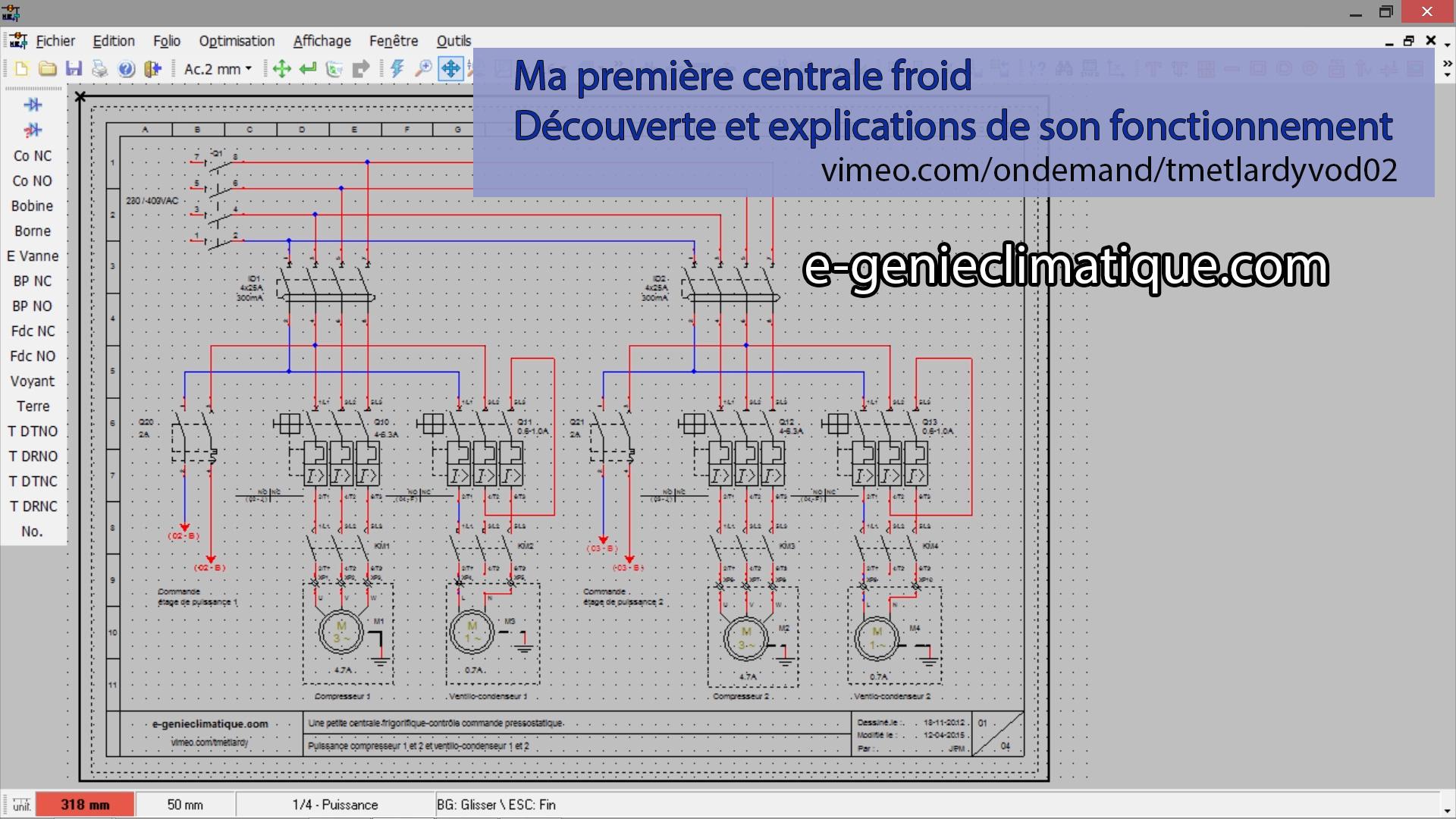 VOD02 Ma Premire Centrale Froid Dcouverte Et