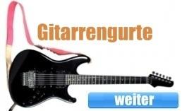Gitarrengurte kaufen