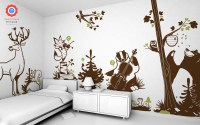 Forest Animals Kids Wall Decals, Forest Theme Nursery or ...