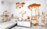 Australia Wall Stickers - Baby and Kids Wall Decals E-Glue ...