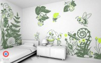 Flower and Insect Wall Decals - Baby & Kids Wall Decals E ...