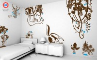 Tropical Frog Wall Decal - Baby & Kids Wall Decals E-Glue ...