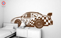 Racing Car XXL Wall Decal - Nursery Kids Rooms Wall Decals ...