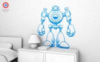 Robot XL Wall Decal - Nursery Kids Rooms Wall Decals, Boy ...
