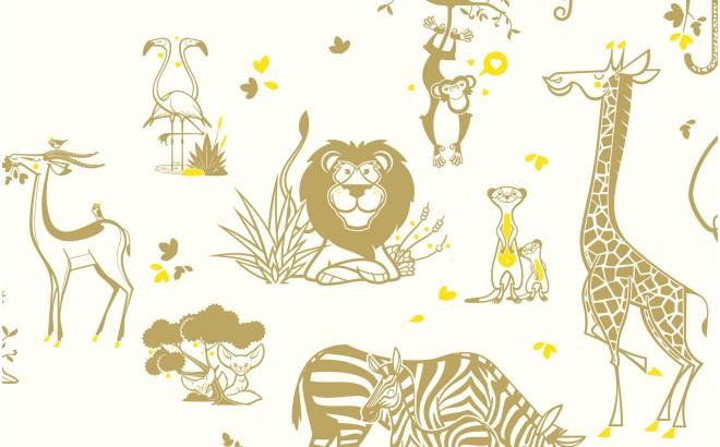 Cute Baby Boy Pics Wallpapers Papier Peint Animaux Savane D 233 Co Chambre Enfant