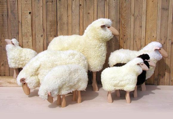 sheep  adorables tabourets pour chambre enfants  NOW