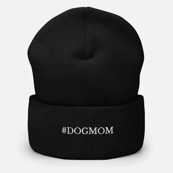 #dogmom beanie