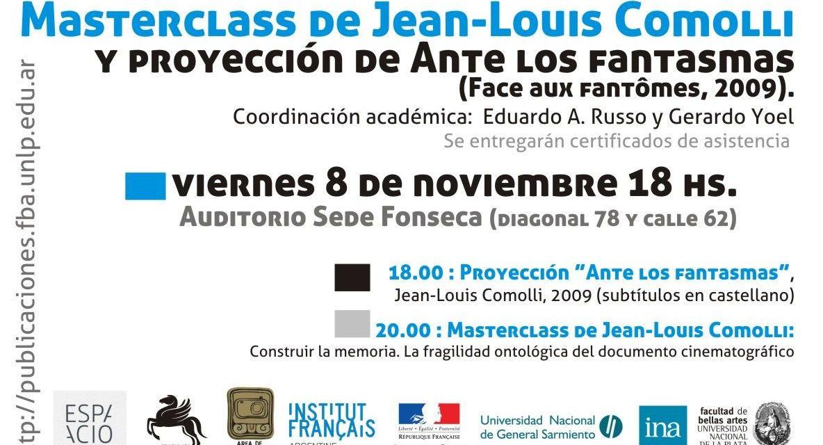 Master Class Jean Louis Comolli