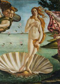 Sandro Botticelli, El nacimientod de Venus, 1485.