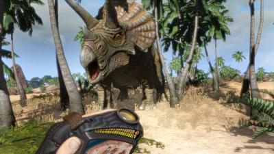 Fotograma del videojuego Carnivores - Dinosaur Hunter HD 2