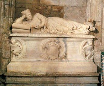 Sepulcro de Antonio del Corro, siglo XVI.