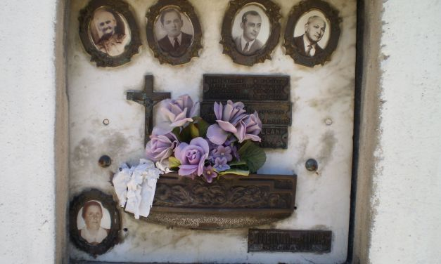 La fotografía como refugio de la memoria. El caso del cementerio de Chacarita