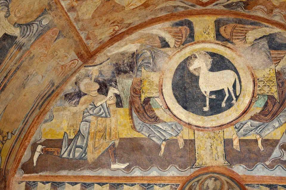 Conferencia: Usos litúrgicos de la pintura mural en el Románico