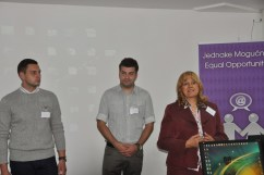 "Seminar ""Women's e-clubs in rural areas of Serbia"", April 2012, Metropolitan University, Belgrade"