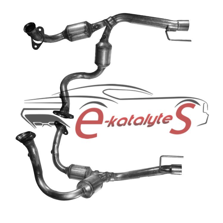 Catalytic Converters CHRYSLER GRAND CHEROKEE 4.7 V8 (f