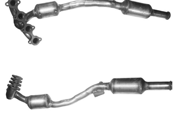 Catalytic Converters MERCEDES A160 1.5 (W169) Manual 4