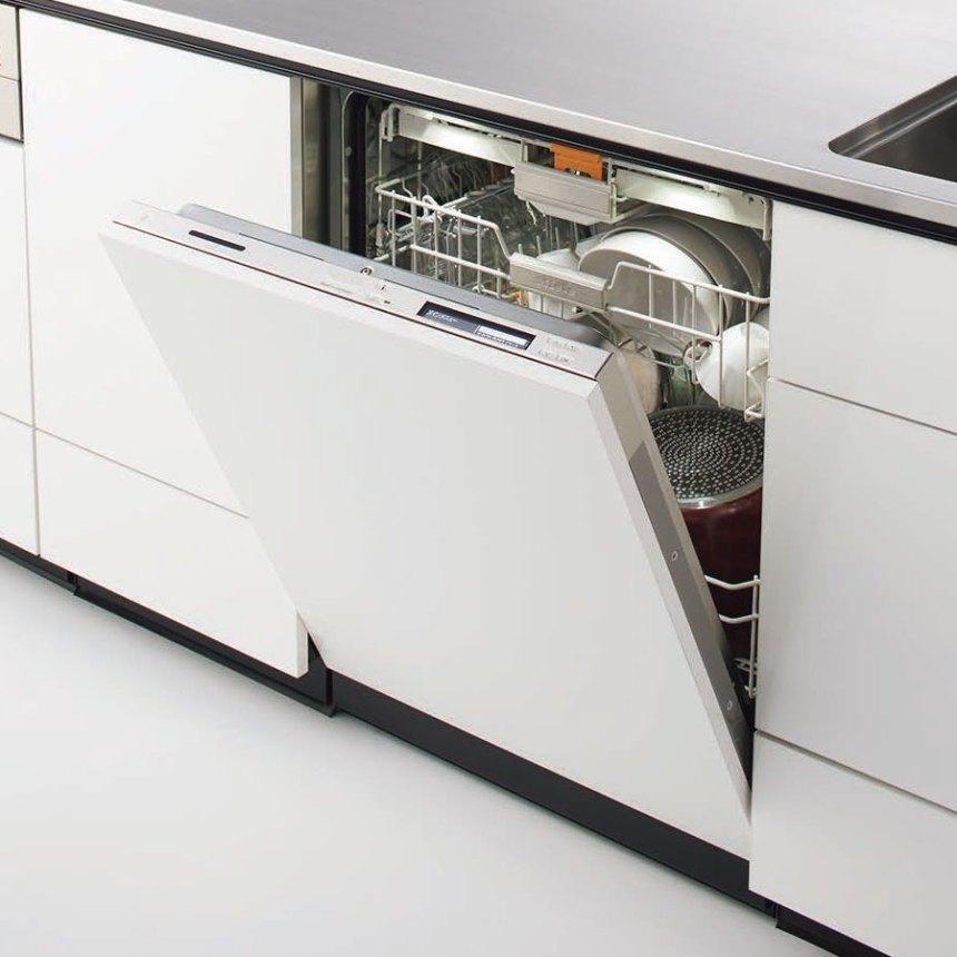 クリナップ食洗機フロントオープン