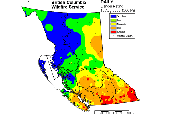 Call *5555 report a wildfire! Two New Fires Reported By Bc Wildfire Service Columbia Valley Cranbrook East Kootenay