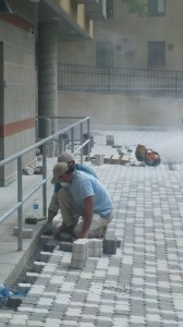 Installing Pervious Pavers