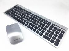 Keyboard/Mouse Lenovo Ultraslim Style Wireless Silver (US English)